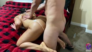 my wife's sister let me fuck her in the ass after my wife kicked her out the house